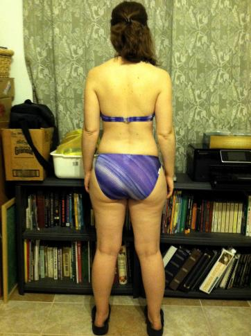 Day 50 - Back View - 2/22/2012