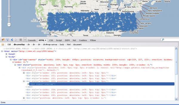 Google maps api v3 styled map